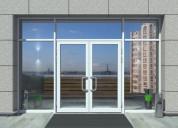 Trendy design aluminium doors manufacturers in far