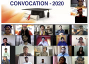 Online convocation of school of cinema at asms 202