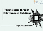 Government software development company in india