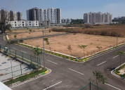 Gated community layouts near old madras road