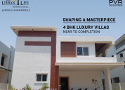 Pvr urbanlife 4bhk luxurious villas for sale