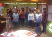 Agile scrum master training in chennai