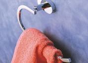 Bathroom towel holder - napkin holder for wash bas