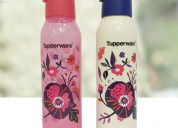Tupperware cool n chic flower 750ml bottle 2pc