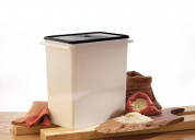 Tupperware plastic rice keeper, 10kg 1pc