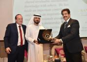 Global cultural minister sandeep marwah honoured b