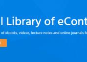Ulektz  digital library of econtent