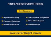 Adobe analytics online certification course