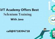 Selenium with java training institute in noida