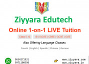 Get the best one-on-one live online tuition classe