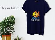 Shop custom t shirt online for men and womens