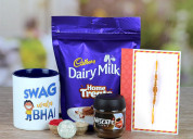 Send rakhi gifts to faridabad with oyegifts