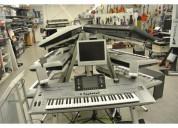 Yamaha tyros5, pioneer dj cdj-2000nxs2, korg pa4x