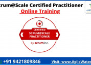 Certified scrum@scale practitioner certification