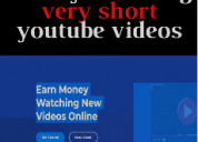 Get paid 50$ just watching 34 seconds youtube vid