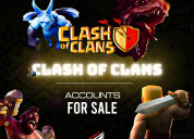 Clash of clan account for sale