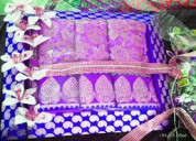 Saree gift packing