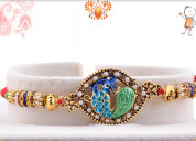 Rakhi delivery in ghaziabad from myflowertree