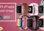 Get 35% off apple watch straps