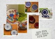 Dinner plates & ceramic plates online in delhi