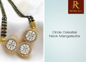 The circle celestial neck mangalsutra - rishirich
