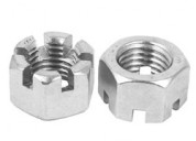 Hex slotted nuts | castle nuts | slotted nuts