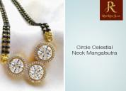 The circle celestial neck mangalsutra