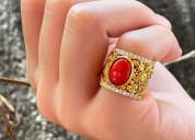 Buy certified coral gemstone online at best price
