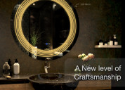 Mirror with lights to illuminate your home environ