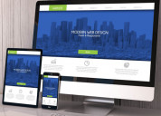 Responsive website design and development company