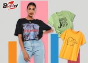 Printed tshirts for ladies | tees for womens