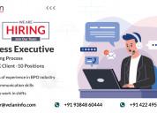 Process executive - monitoring process - bpo