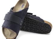 Birkenstock kyoto soft footbed nubuck leather sand