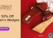 50% off womens wedges