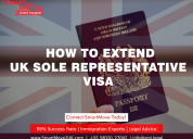Extend your uk sole representative visa in 2021