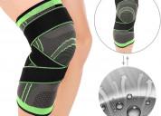 Knee brace with adjustable strap
