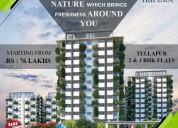 2&3bhk apartments in tellapur   tripura constructi
