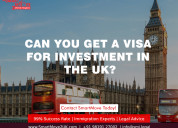 How can you get a visa for investment in the uk?