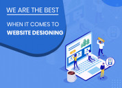 Creative website designing services with high cr