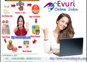 Online jobs | part time jobs | home based job