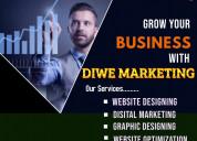 Creative website designing agency in delhi | diwe