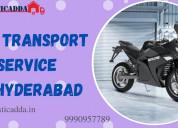 Verified bike transport in hyderabad