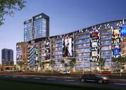 A world-class business hub gaur world smartstreet noida