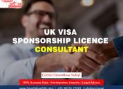 Uk visa sponsorship licence consultants in india