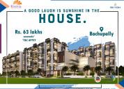 2&3bhk flats in bachupally | skyon by risinia