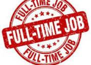 Back office vacancies in digital marketing work.