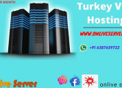 Powerful network service turkey vps hosting by onl