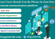 Click to call service provided by kingasterisk tec