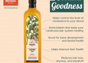 Cold pressed sesame oil online