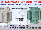 Servo controlled voltage stabilizer manufacturers